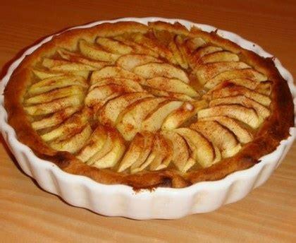 cuisine samira tarte aux pommes à la frangipane recette de tarte aux