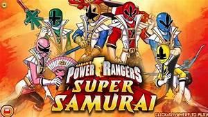 Power Rangers Super Samurai Nickelodeon Games Antonio