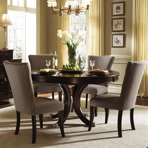 upholstered dining chairs  perfect contemporary
