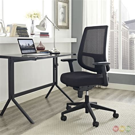 ergonomic mesh back office chair with lumbar support