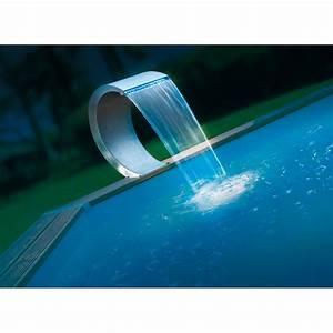 Piscine Avec Cascade : cascade de piscine mamba led en inox ubbink ~ Premium-room.com Idées de Décoration