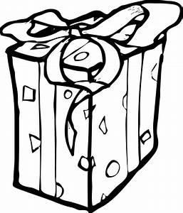 Birthday Gift Clipart Black And White | www.imgkid.com ...