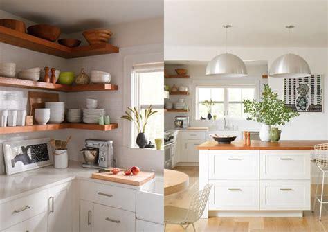 mensole scaffali tutto a vista in cucina mensole e scaffali aperti