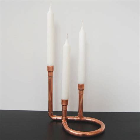 copper candle holders copper candle holder by copper notonthehighstreet