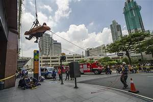 Makati central business district ready for 'Big One'