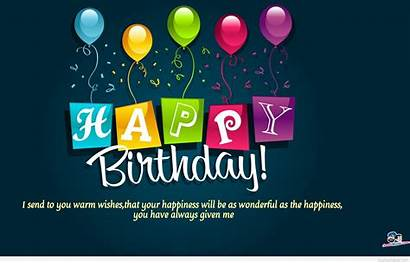 Birthday Happy Background Sayings Quotes Wish Backgrounds