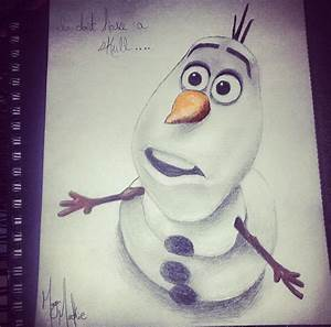 Olaf! One of my personal favorite disney characters ...