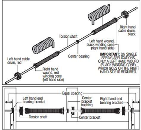 garage door coil adjustment garage garage door torsion adjustment home