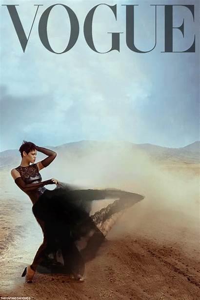 Rihanna Vogue Stunning Fanpop Shoot Chris Brown