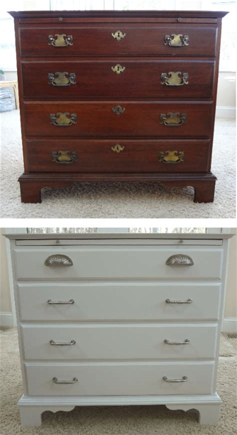 refinished stained painted wood