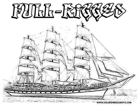 pirate ship coloring page pirate ship coloring pages to and print for free