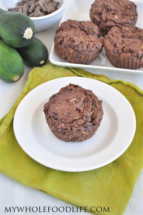 courgette cuisine vegan chocolate zucchini muffins
