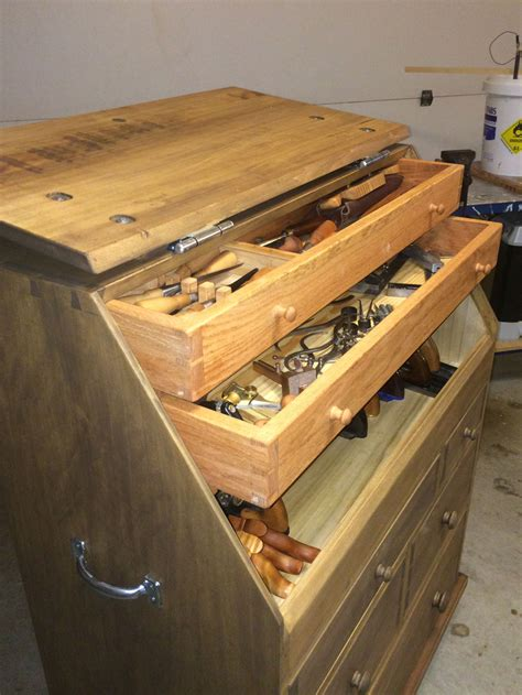slant lid tool chest popular woodworking magazine