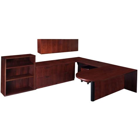 steelcase u shaped desk steelcase garland used left return veneer u shape desk