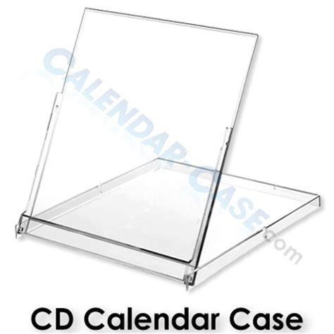 large desk calendar holder cd calendar cases 100 pack cc cd cd calendar jewel