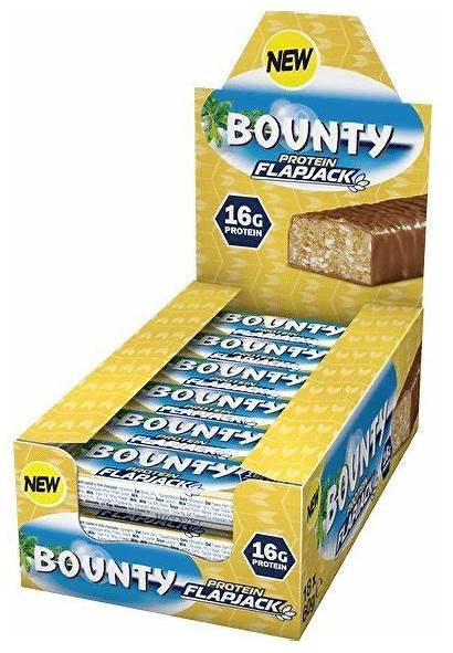 Bounty Protein Flapjack Riegel 18er Snickers Mars