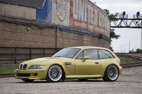 2001 Phoenix Yellow Bmw Z3 M Coupe