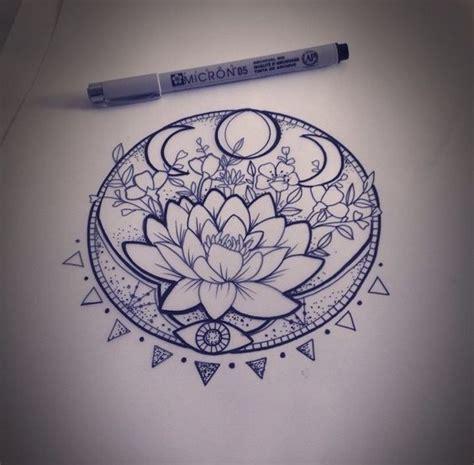lotus mandala tattoo ideas  pinterest