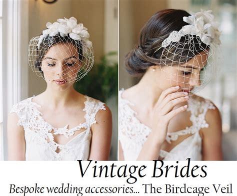 Vintage Wedding Birdcage Veil Inspiration