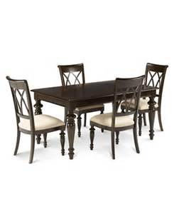 bradford 5 piece dining room furniture set furniture