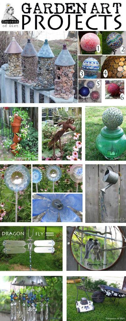 Creative & Frugal Garden Art Project Tutorials Empress