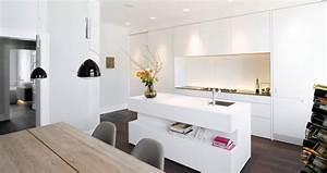 1001 conseils et idees pour amenager une cuisine moderne With deco cuisine avec chaise noir et blanche