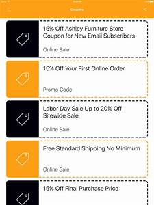 App Shopper Coupons For Ashley Furniture Discount