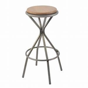 Tabouret De Bar En Metal : tabouret de bar industriel en m tal opium 4 pieds tables chaises et tabourets ~ Preciouscoupons.com Idées de Décoration
