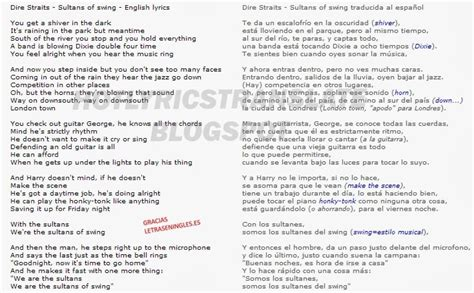 lyrics dire straits sultans of swing top lyrics translated canciones top traducidas dire