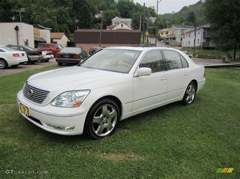 lexus sedan 2005 2005 moonlight pearl lexus ls 430 sedan 65774268