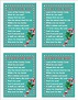 Printable Candy Cane Poem for Christmas   The Flanders ...