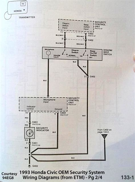 Accord Security System Wiring Diagram Needed Asap