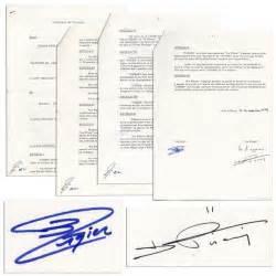 lot detail didier pironi ligier document signed