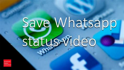 save whatsapp status video  iphone youtube