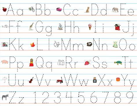 Abc Practice Sheet For Children  Loving Printable