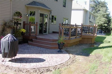 deck and patio ideas for small yards home citizen