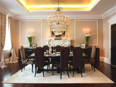 Luxury Dining Room In London Apartments #7762 House