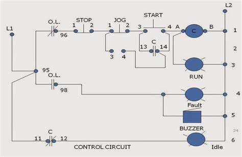 Jog Motor Control Operation Circuits