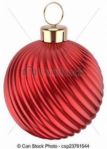Dessin de noël balle heureux nouveau année Babiole rouges csp23761544 Recherchez des