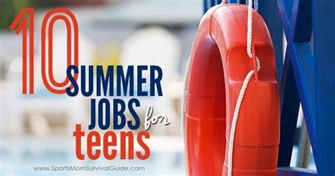 summer jobs  teens