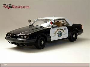 GMP 1992 Ford Mustang Police Special California Highway