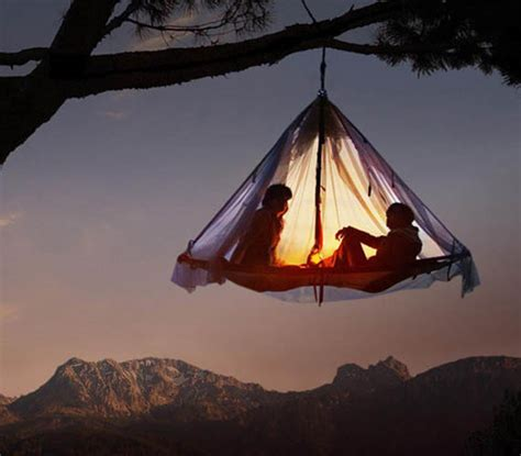 hanging canopy tent an acrophobic s worst nightmare hanging tents