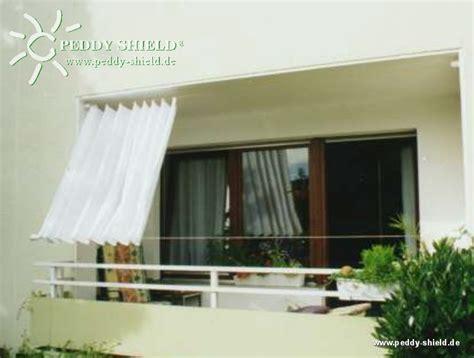 Balkon Sichtschutz Mit Faltsonnensegeln