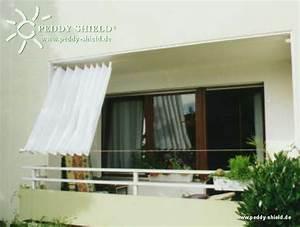 Sonnenschutz Für Den Balkon : balkon sichtschutz mit faltsonnensegeln ~ Markanthonyermac.com Haus und Dekorationen
