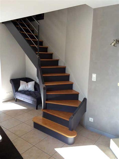 escalier repeint 224 orvault peintre d 233 corateur homecolor