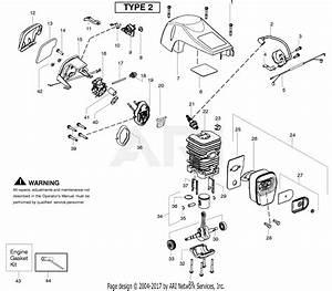 Poulan Sm4218av Poulan Pro Gas Saw Type 2 Parts Diagram