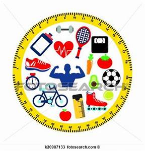 Image Gallery healthy lifestyle clip art