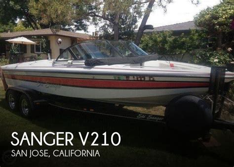 Sanger Boats Reviews by Sanger V210 For Sale In San Jose Ca For 20 000 Pop Yachts