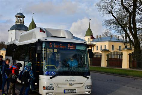 Bezmaksas brauciens Jēkabpils pilsētas autobusā skolēniem ...