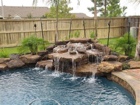 Can You A In Your Backyard by Pool Waterfall Ideas You Can Recreate In Your Backyard